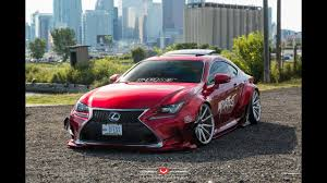 lexus rcf widebody lexus rcf rocket bunny and air suspension youtube