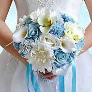 Polyester Flowers - satin wedding flowers search lightinthebox