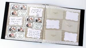 Photo Pages 4x6 Photo Booth Scrapbook Album Printed Pages Burlap U0026 Lace U2013 Paper