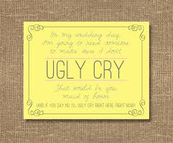 cards to ask bridesmaids don t let me cry be my bridesmaid bridesmaid