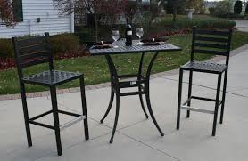 Patio Chairs Bar Height 18 Bar Height Patio Furniture Set Electrohome Info