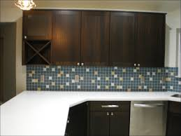 kitchen hickory cabinets with dark wood floors mission style