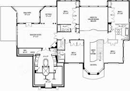 Floor Plan Elevations by Barons Court European House Plans Luxury House Plans