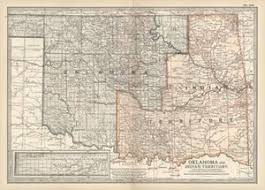 map of oklahoma maps of oklahoma posters at allposters