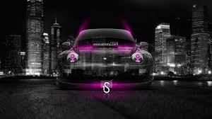 light purple porsche porsche crystal city car 2014 el tony