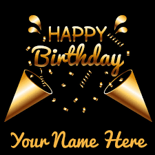 write birthday cake greeting card