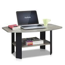Amazon Com Furinno 11179gyw Bk Simple Design Coffee Table