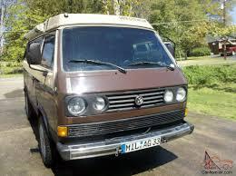 volkswagen vanagon lifted volkswagen bus vanagon gl westfalia full camper no rust award