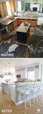 genius kitchen makeover ideas that would save you money hative coastal kitchen makeover keeping the existing layout