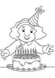 sarah gilbertson ready blow candles postman pat coloring