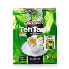 X Teh aik cheong 3 in 1 teh tarik instant milk tea sachets 15 x 40g from