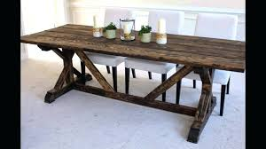 10 ft farmhouse table 10 foot farmhouse table plans ft dining ncgeconference com