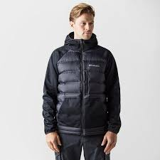 columbia ultra light down jacket columbia men s ramble down hybrid hooded jacket