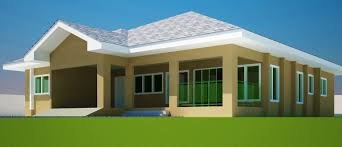one floor house plans picture simple four bedroom awesome in ghana