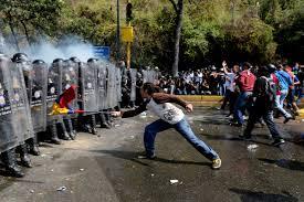 Venezual Flag Spiraling Inflation Street Crime Spur Venezuela Protests Kbia