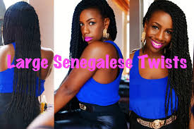human hair used to do senegalese twist large senegalese twists youtube