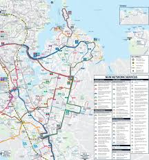 Air New Zealand Route Map by New Network For East Auckland