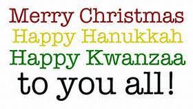 happy holidays y all