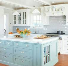 kitchens with different colored islands white kitchen cabinets with a different color island kitchens