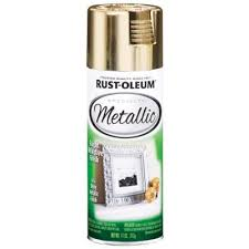 rust oleum specialty 11 oz metallic gold spray paint 6 pack