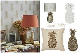 Laura Ashley Home by Home Inspiration Pineapple Trend Vintage Frills