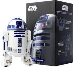 sphero r2 d2 app enabled droid white r201row best buy