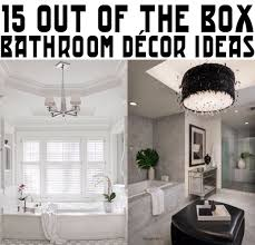 out of the box bathroom decor ideas 15 out of the box bathroom decor ideas