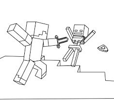 coloring pages for minecraft minecraft sword coloring pages from
