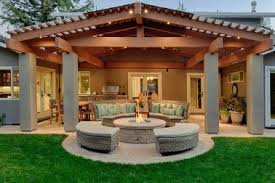 Craftsman Style Patio 15 Craftsman Style Fire Pit Designs Craftsman Style Pergola Home