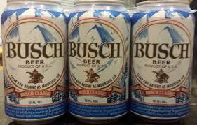 busch light aluminum bottles saturdays suds baseball beer 54 busch fka busch bavarian