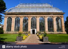 Botanic Garden Mansion Palm House And Glasshouse Royal Botanic Garden Edinburgh