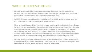 the history of crossfit