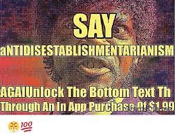 Meme Text App - say antidisestablishmentarianism agaiunlock the bottom text th