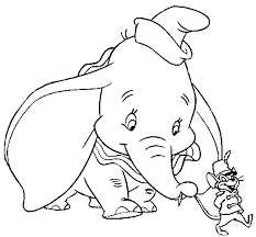 disney dumbo coloring pages free printable cartoon coloring