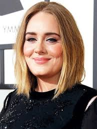 photo gallery of adele shoulder length bob hairstyles viewing 7