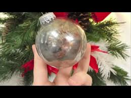 how to make mercury glass look ornaments for your tree
