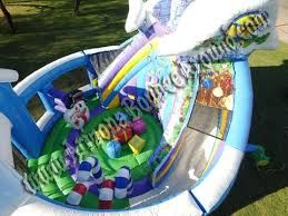 Winter Decorations For Parties - christmas winter or holiday themed bounce house rentals in