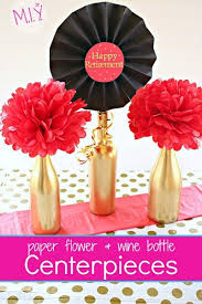 retirement party decorations easy up cycled retirement party centerpieces for make it