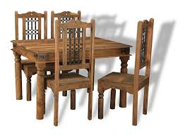 Jali Dining Table And Chairs Indian Dining Sets Indian Furniture