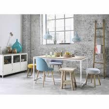 Wohnzimmerm El Vintage Esstisch Aus Holz Und Metall B 150 Cm Weiß Igloo Maisons Du