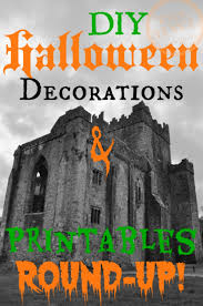 Halloween Decorations Printables Halloween Decoration And Printable Round Up The Hand Written Life