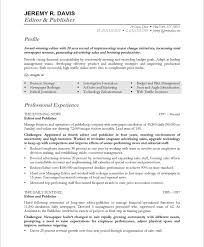 Sample Resumes For Management by Managing Editor Free Resume Samples Blue Sky Resumes