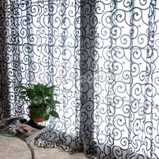black panel curtains promotion shop for promotional black panel