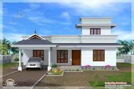 feet kerala model one floor house indian plans building plans