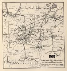 Map Indiana Faq Maps Of Electric Railways Interurbans Indiana Railroads