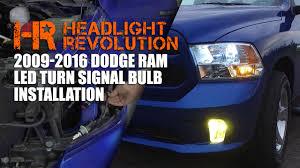 2009 dodge ram 1500 headlight bulbs installing led turn signal bulbs in the 09 16 ram headlight