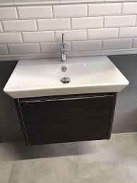 Ex Display Bathroom Furniture by Ex Display Vitra T4 Basin And Basin Unit 70cm Basin Mixer In