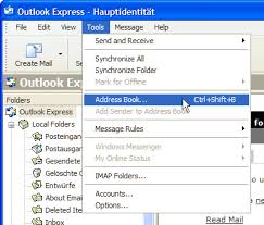 how to create an outlook address book in 2013 back up or copy your outlook express address book