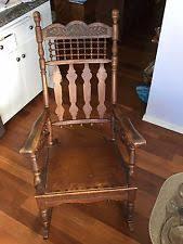 Rocking Chair Runners W 3 5270 Amish Cut Oak Rocking Chair Runners Ebay