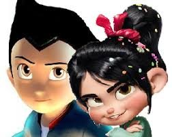 astroboy hair image vanellope and astro boy png rise of the brave tangled